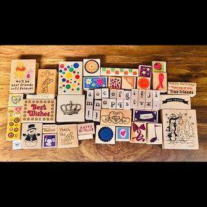 60 Stamps New & Used, Vintage & Modern Lot